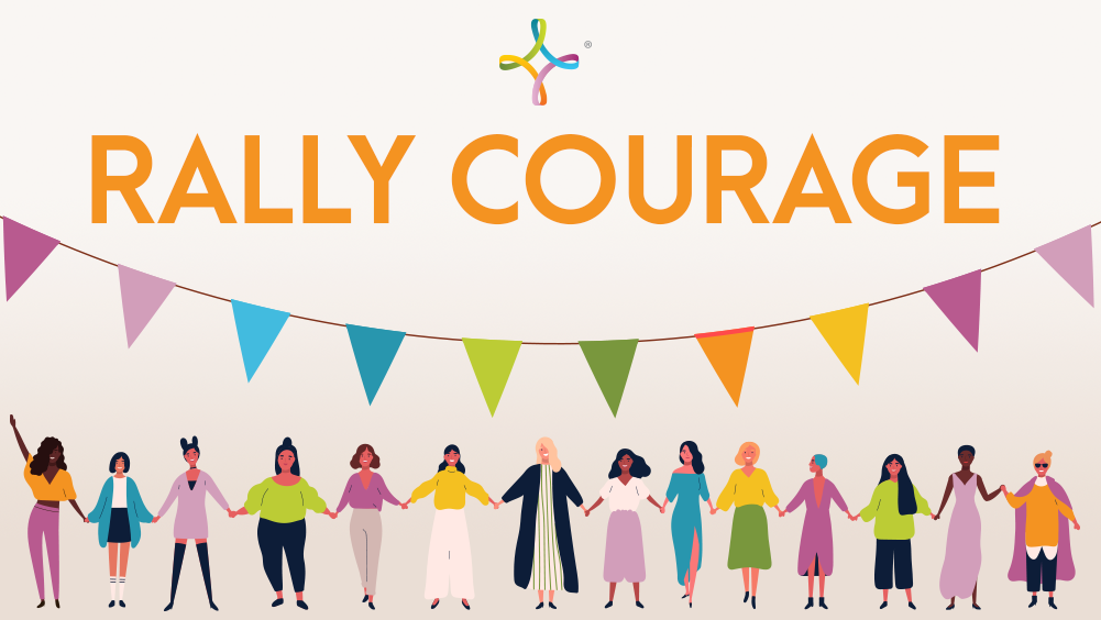 Rally Courage with Us Today!